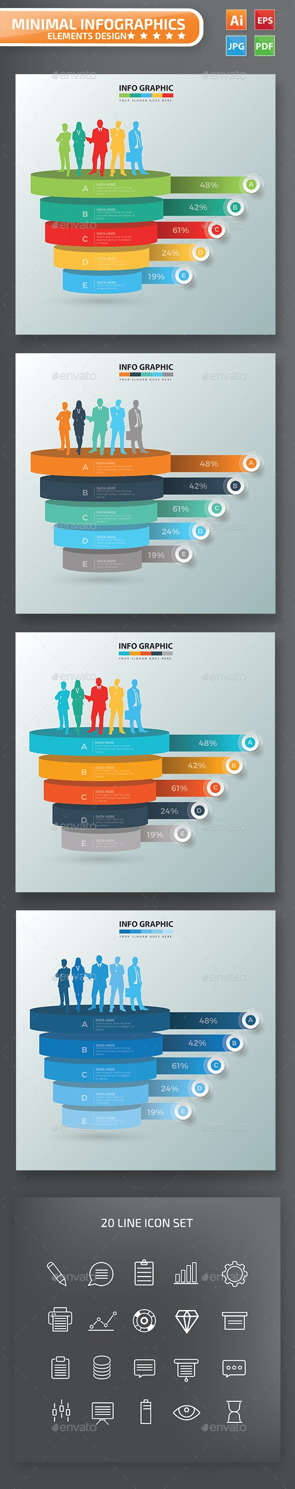Human Resource Infographic Design - Infographics