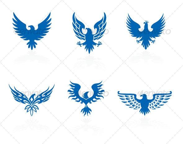 Eagles design - Decorative Symbols Decorative