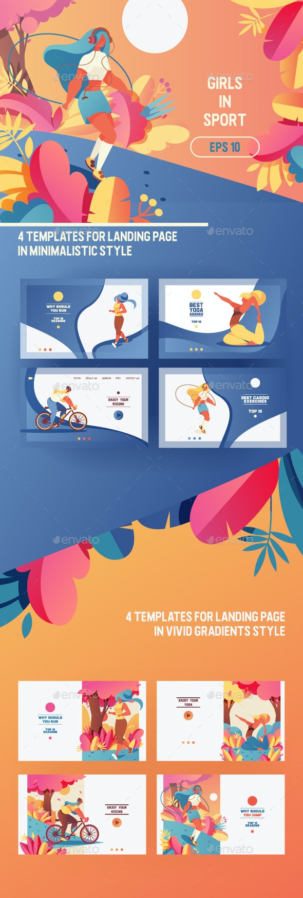 Girls in Sport Concepts - Sports/Activity Conceptual