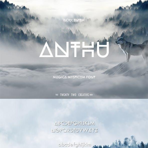 Anthu - A Mystical Font