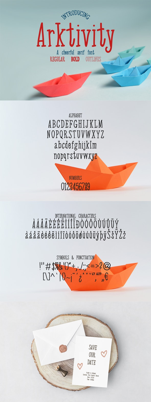 Arktivity - Serif Font - Serif Fonts