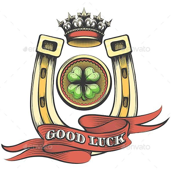 Good Luck Gambling Emblem