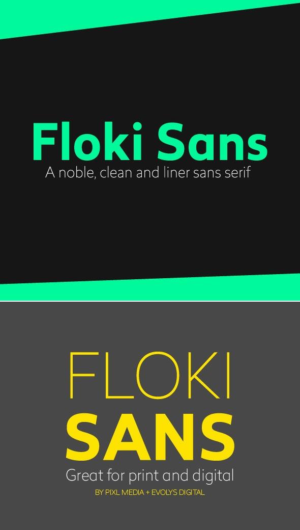 Floki Sans Font (3 Weights) - Sans-Serif Fonts