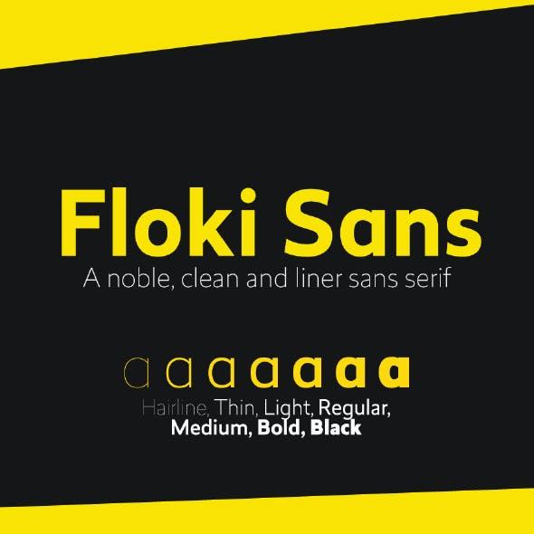 Floki Sans Pro Font (7 Weights)