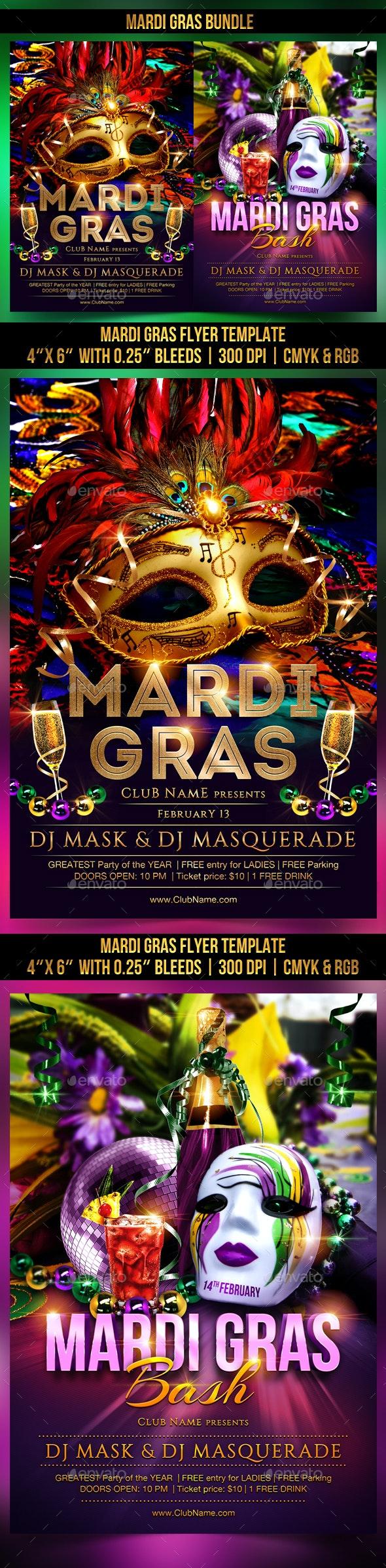 Mardi Gras Bundle - Clubs & Parties Events