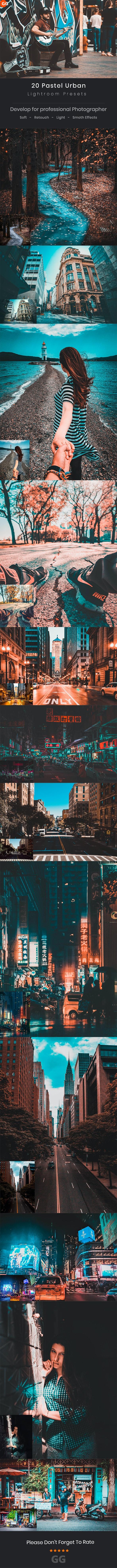 Pastel Urban Lightroom Preset - Cinematic Lightroom Presets