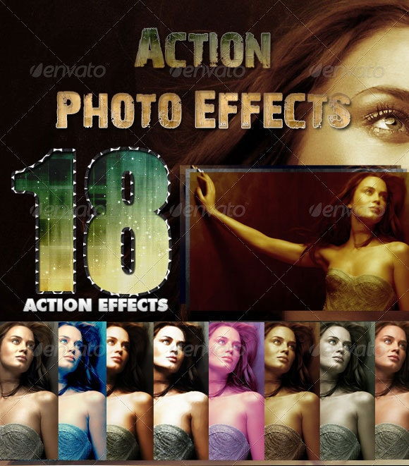 Photo Effects Actions - Photo Effects Actions
