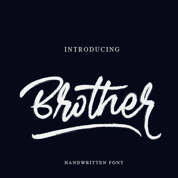 Brother - Handwritten Font
