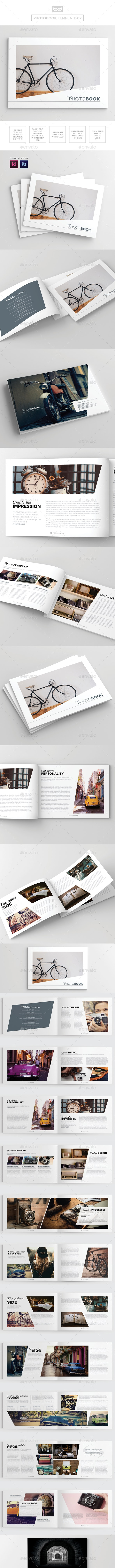 Magazine/Lookbook Template InDesign & Photoshop 07 - Magazines Print Templates