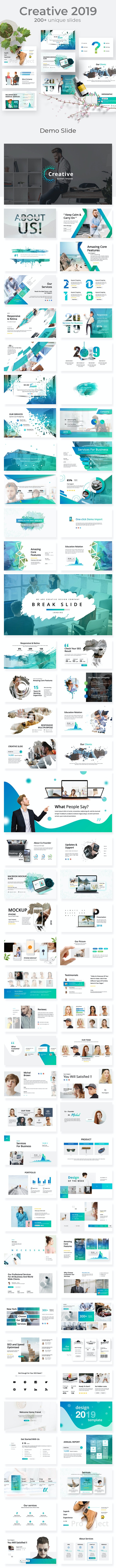 Creative Business 2019 Powerpoint Template - Business PowerPoint Templates