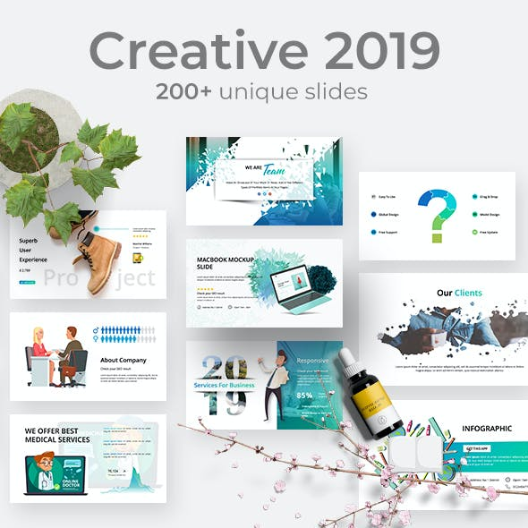 Creative Business 2019 Powerpoint Template