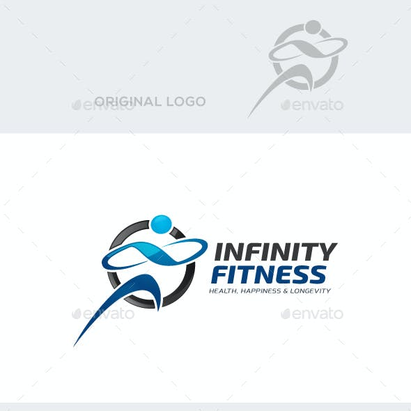 Infinity Fitness Logo Template