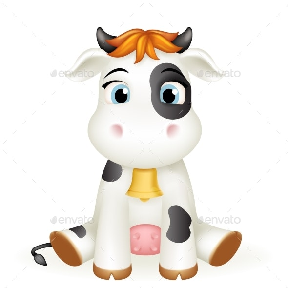 Baby Calf Toy - Animals Characters