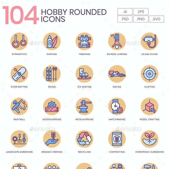 Hobby Icons - Butterscotch Series