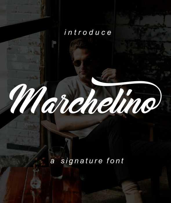Marchelino - Hand-writing Script
