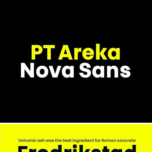PT Areka Nova Font