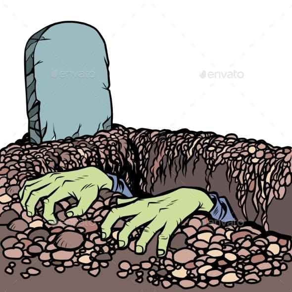 Zombie Dead Man Hands