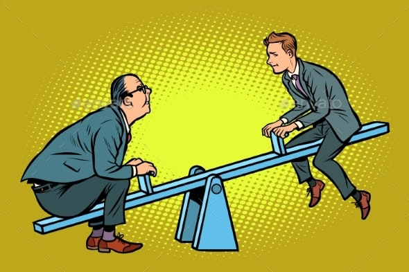 Two Business Partner Balance - Concepts Business