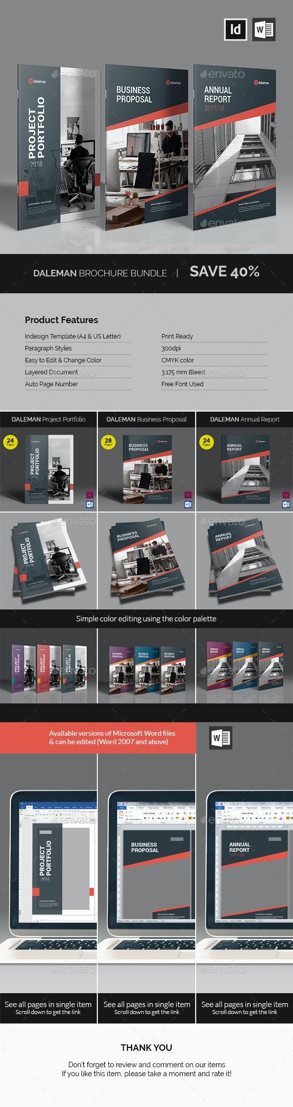 Daleman Brochure Bundle - Corporate Brochures
