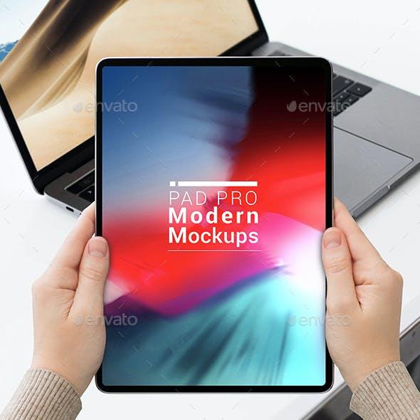 Pad Pro Modern Mockups