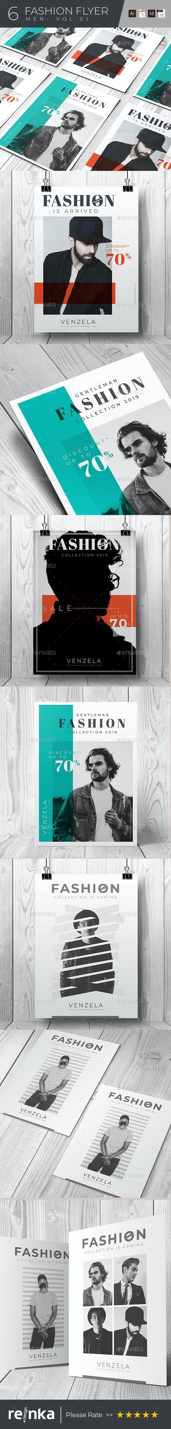 6 Fashion Flyer - Vol.02 - Events Flyers