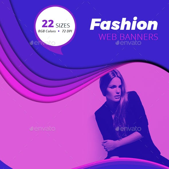 Fashion Web Banners