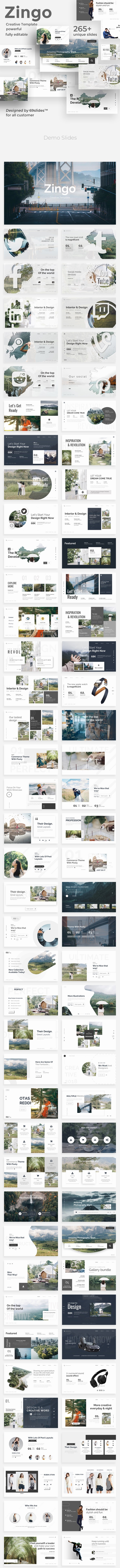 Zingo Creative Powerpoint Template - Creative PowerPoint Templates
