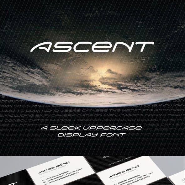 Ascent font