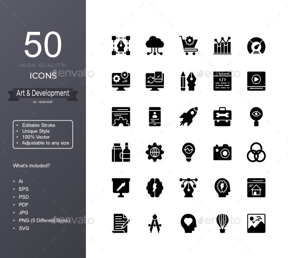 Art Design and Development - Icons