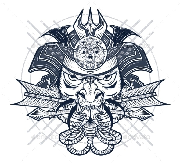 Wicked Samurai - Miscellaneous Vectors