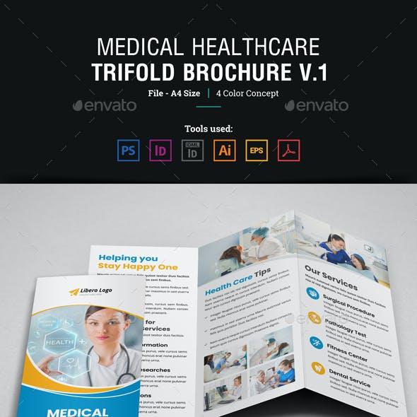 Medical Healthcare Trifold Brochure v1