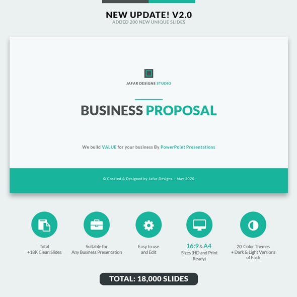 PowerPoint Templates from GraphicRiver