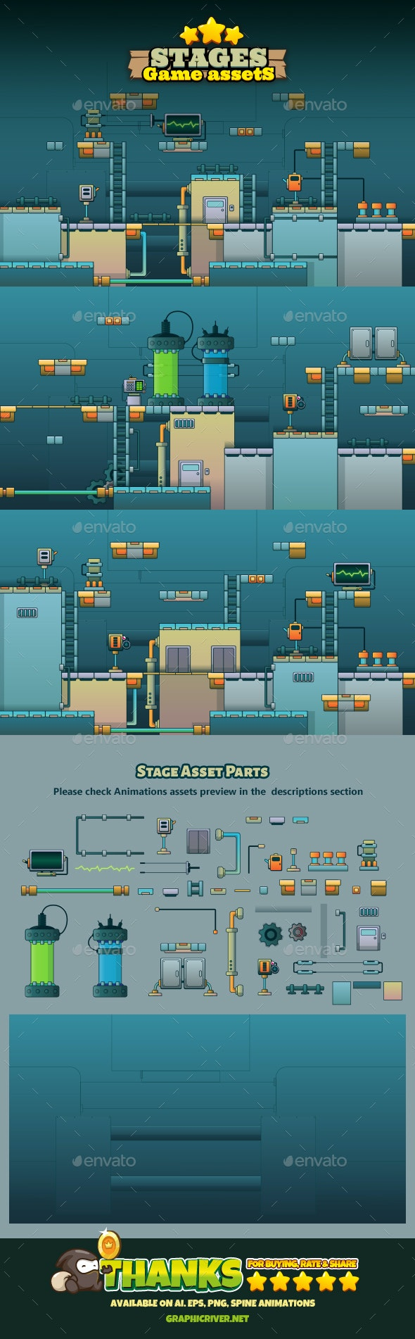 Game Stage 05 - Tilesets Game Assets