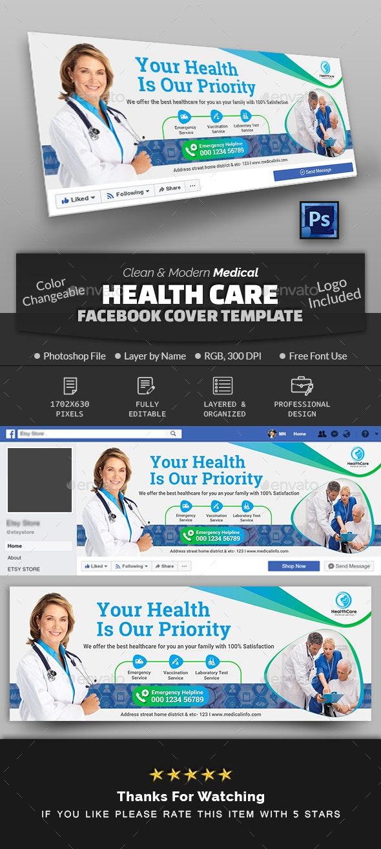 Medical Health Care Facebook Cover - Facebook Timeline Covers Social Media