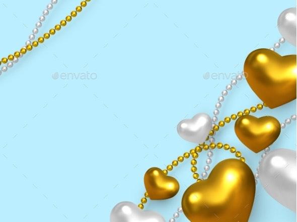 Valentines Day Wedding Decorative Love Concept - Miscellaneous Seasons/Holidays