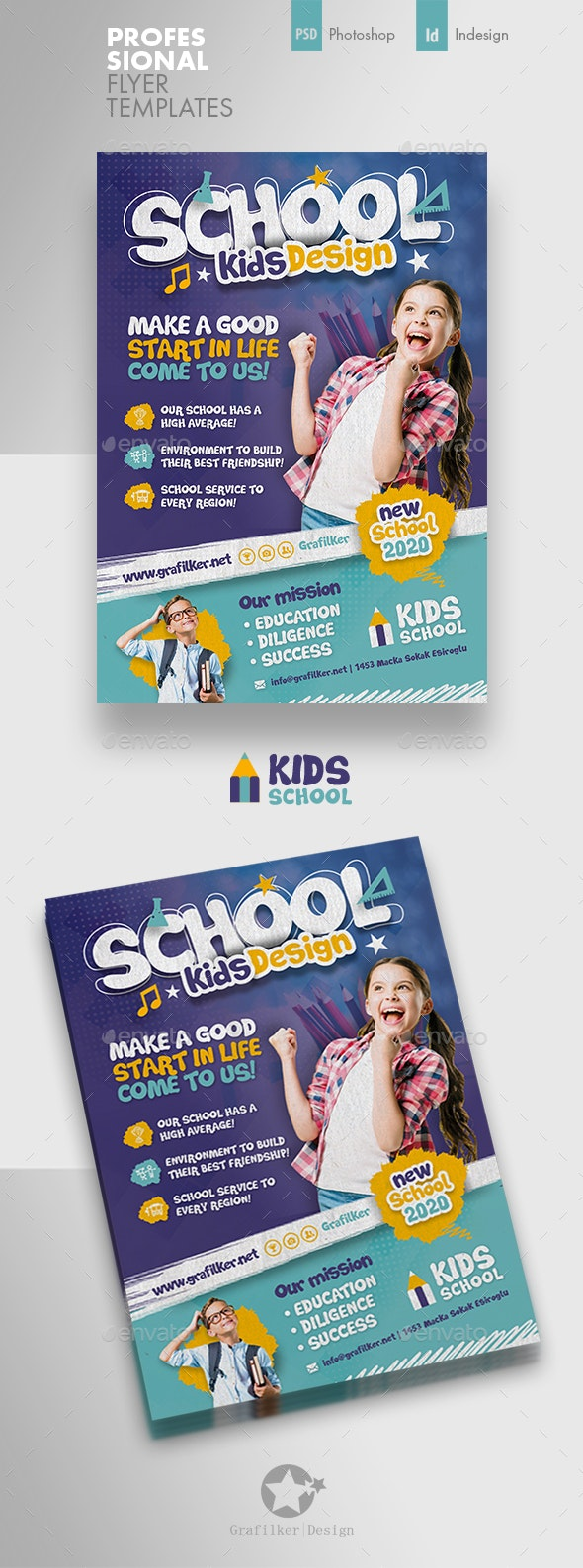 Kids School Flyer Templates - Corporate Flyers