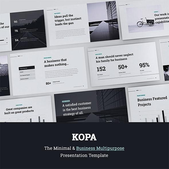 Kopa Business & Multipurpose Template (Google) - Google Slides Presentation Templates