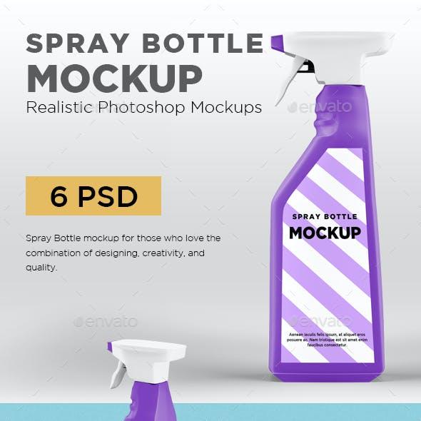 Spray Bottle Mockup V2