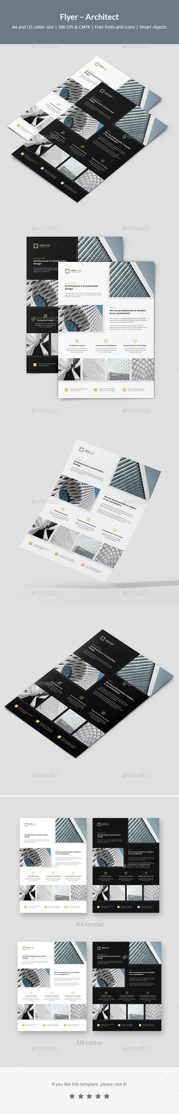 Flyer – Architect - Corporate Flyers