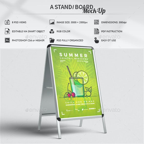A Stand / Board Mock-Up