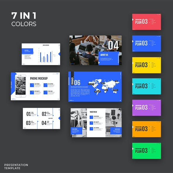 7 in 1 - My Project Pro - Powerpoint Template