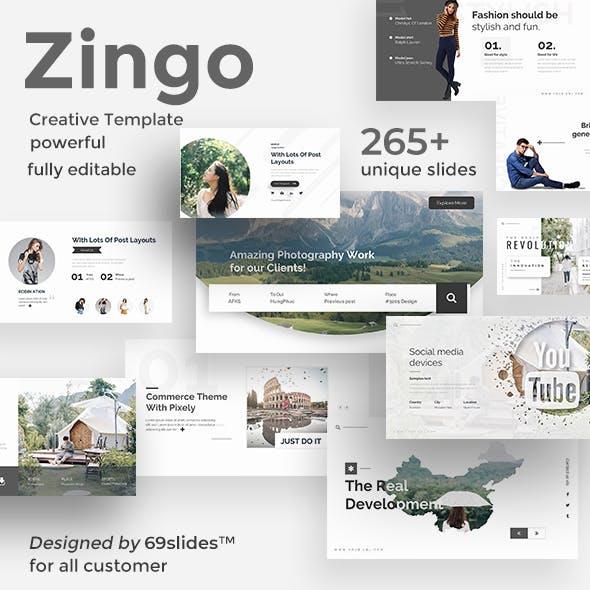 Zingo Creative Keynote Template
