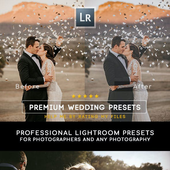 30 Premium Wedding Lightroom Presets