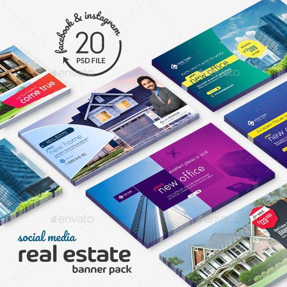Real Estate Banner Pack