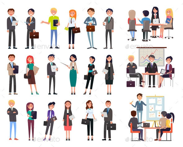 Business Meeting People - Concepts Business