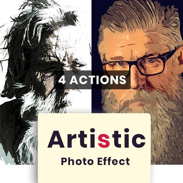 Modern Artistic Photo Effect