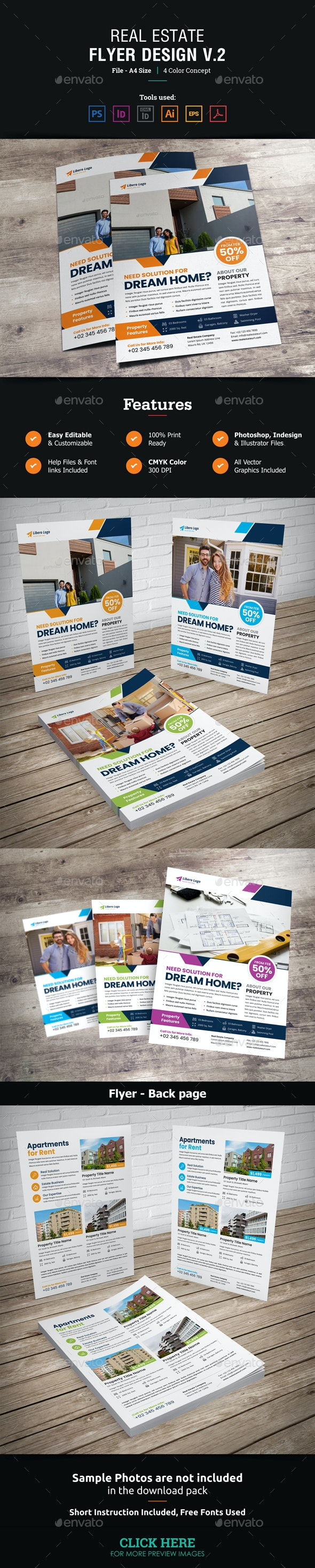 Real Estate Flyer Design v2 - Corporate Flyers