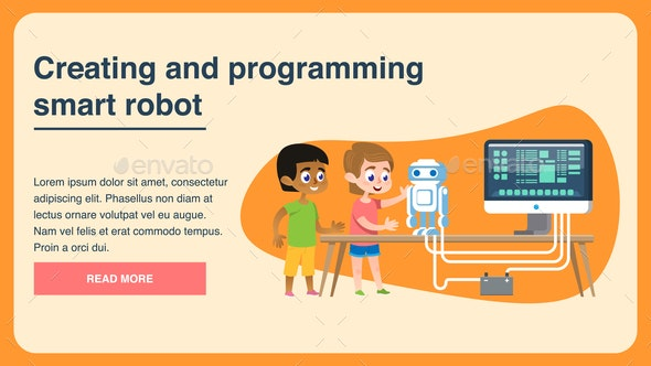 Creating and Programming Smart Robot - Computers Technology