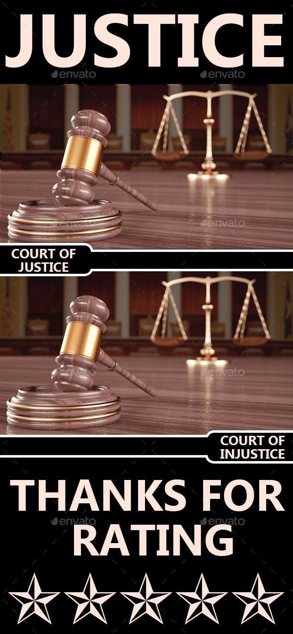 Justice - 3D Backgrounds
