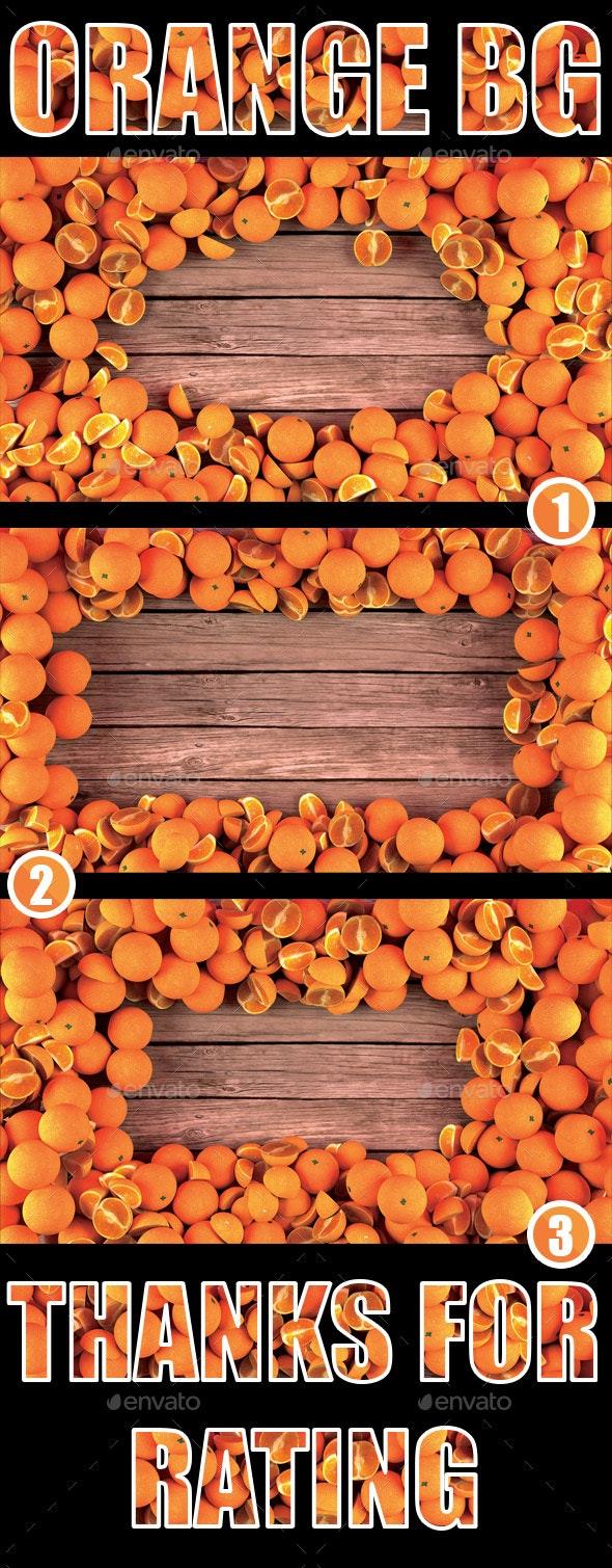 Orange BG - Backgrounds Graphics